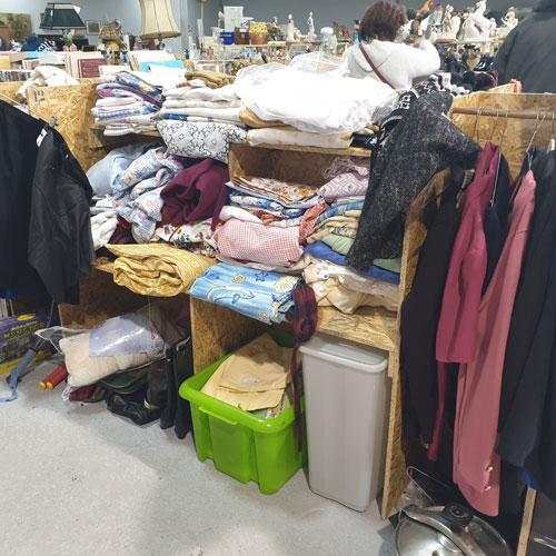 Vente articles textiles occasion à Amiens et Abbeville