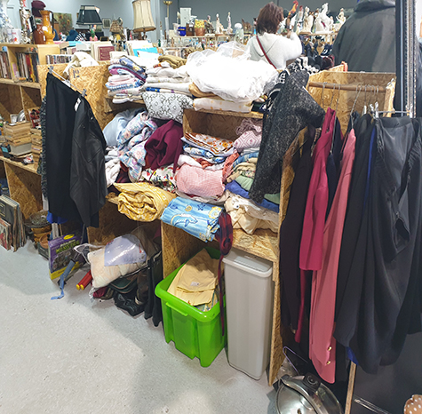 Vente textiles occasion à Amiens et Abbeville